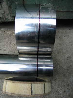 обрезаем трубы газового конвектора